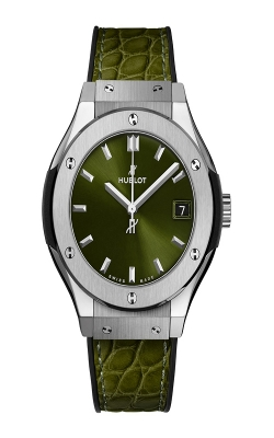 GREEN TITNAIUM CLASSIC FUSION 33MM 581.NX.8970.LR product image