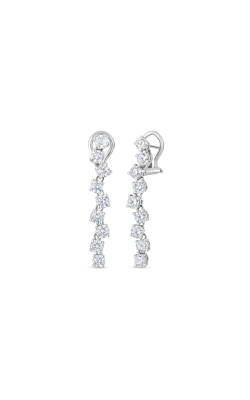 18KT GOLD DROP EARRINGS WITH DIAMONDS 000893AWERX0 product image