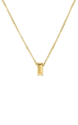 18KT GOLD PRINCESS RONDEL PENDANT 7771360AD-CONFIG product image
