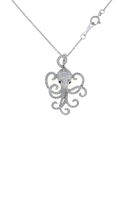 18KT GOLD OCTOPUS PENDANT WITH DIAMONDS 488020AWCHX0 product image