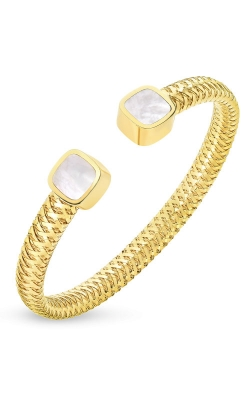 18KT GOLD FLEXIBLE CUFF WITH MOTHER OF PEARL 5574016AYBAM product image