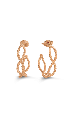 18KT GOLD HOOP EARRINGS 7771047c-config product image