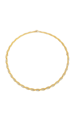18KT GOLD COLLAR WITH DIAMONDS 7771066c-config product image
