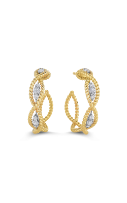 18KT GOLD DIAMOND EARRINGS 7771066AJERX product image