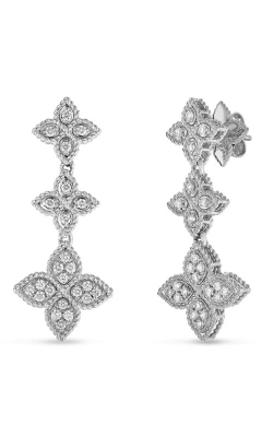18KT GOLD 3 DROP EARRING WITH DIAMONDS 7771538AWERX product image