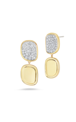 18KT GOLD EARRINGS WITH DIAMONDS 8881873AYERX product image