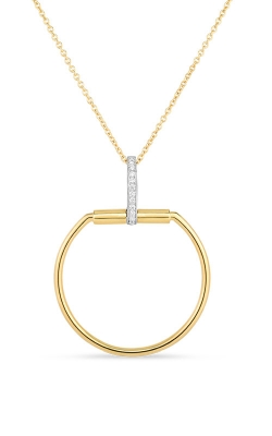 18KT GOLD NECKLACE WITH DIAMONDS 8882385D-CONFIG product image